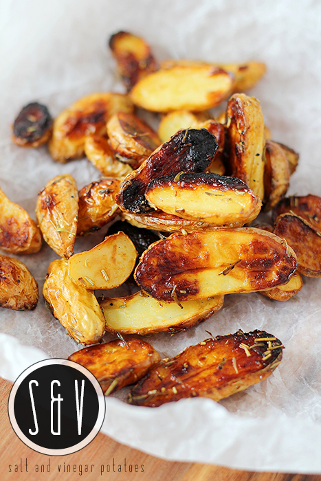 Forget the French fries: Salt and vinegar potatoes