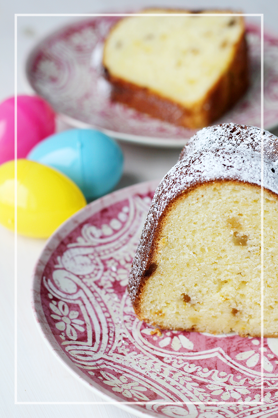 Happy Easter Lemon Ginger Bundt Cake Splash Of Something