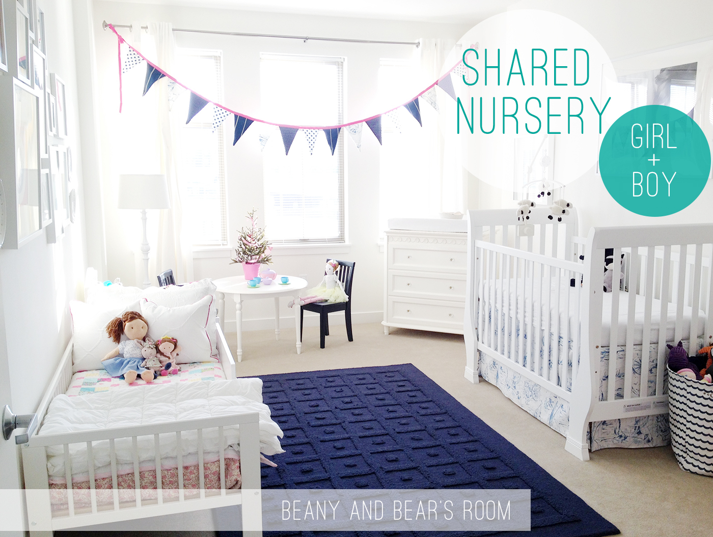 Sharing Room With Baby Decorating Ideas